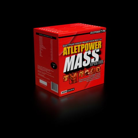 AtletPower MASS+CREATINE (3000гр)